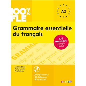 Grammaire Essentielle Du Francais Niv A2 Livre Cd