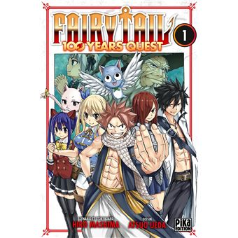 Fairy Tail Tome 1 100 Years Quest