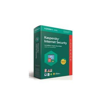 Kaspersky Internet Security 2018 1 Poste 1 An