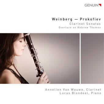 Weinberg - Prokofiev : Clarinet Sonatas / Overture on Hebrew Themes