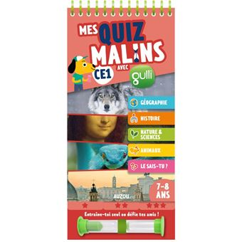 MES QUIZ MALINS - CE1 A CE2