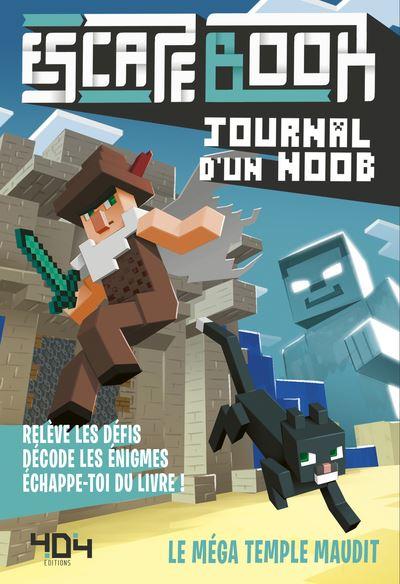 Journal d'un Noob - Escape book - Le méga temple maudit