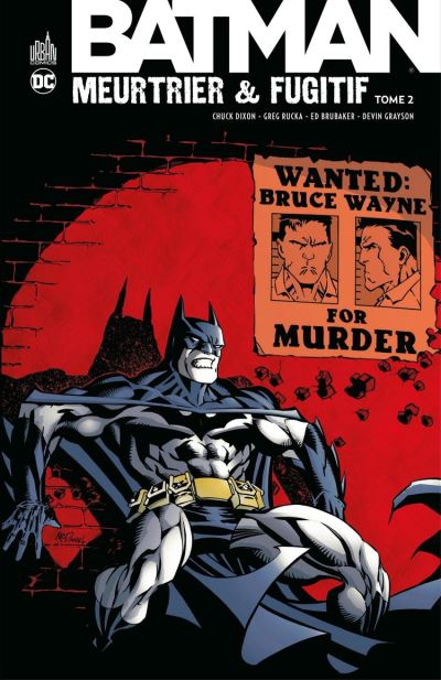 Batman - Meurtrier & fugitif - Tome 2 - 9791026840381 - 14,99 €