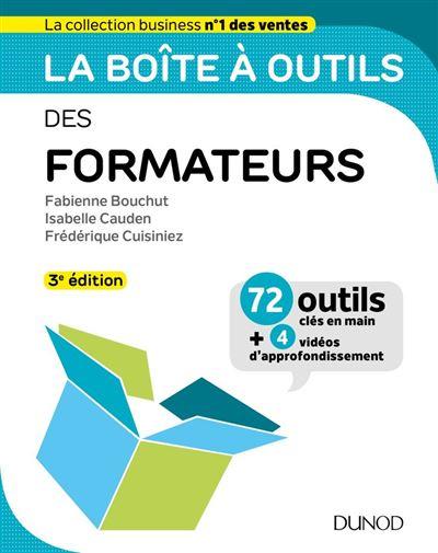 La boîte à outils des formateurs - 3e éd. - 9782100797165 - 14,99 €