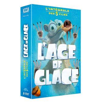 L'âge de glaceAGE DE GLACE 1 A 5 COFFRET-FR