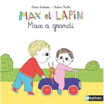 Max et lapinMax a grandi