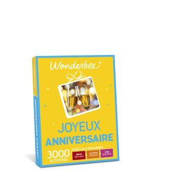 5 Sur Mini Coffret Cadeau Wonderbox Joyeux Anniversaire Coffret