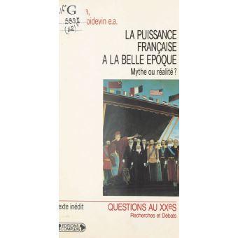 La puissance française à la Belle époque