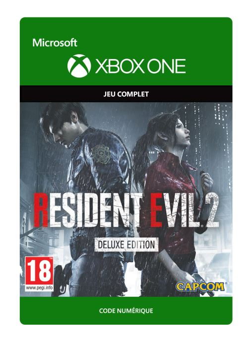 Code de téléchargement Resident Evil 2: Edition Deluxe Xbox One