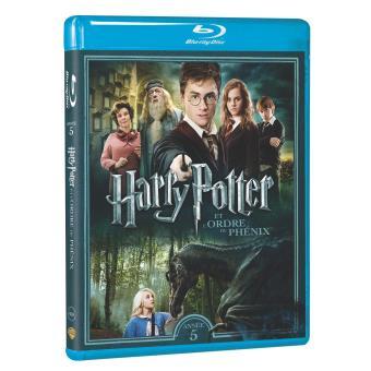 Harry Potter et l'Ordre du Phénix Blu-ray