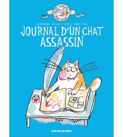 Journal d un chat assassin en bd