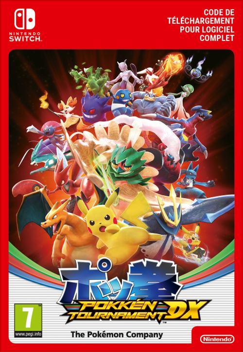 Code de téléchargement Pokkén Tournament DX Nintendo Switch