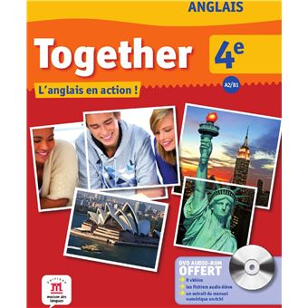 Together Anglais 4e Livre Eleve Cd