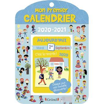 Mon premier calendrier 2020 2021   broché   Marianne Le Grand