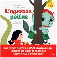 Ogresse poilue livre +cd audio
