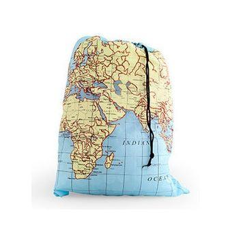 Kikkerland World Map Reiswaszak