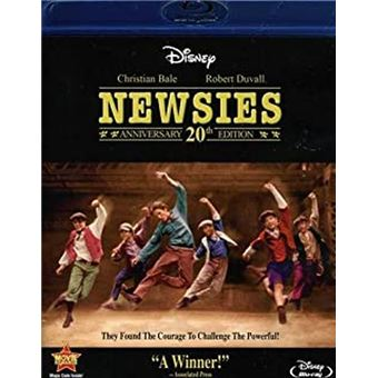 Newsies - The News Boys 20th Anniversary Edition Blu-Ray