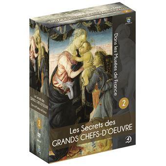 Coffret Les Secrets des grands Chefs-d'œuvre dans les Musées de France Volume 2 DVD