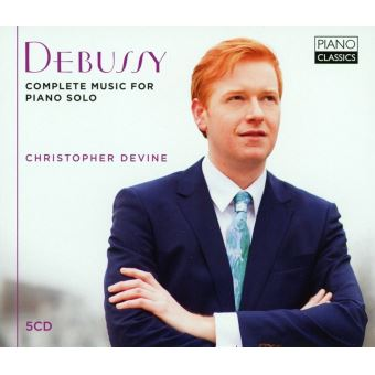 DEBUSSY:COMPLETE MUSIC FOR PIANO SOLO/5CD
