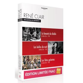 Coffret René Clair : Réalisateur de référence 3 films Edition spéciale Fnac DVD