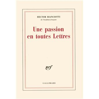 Une Passion en toutes Lettres