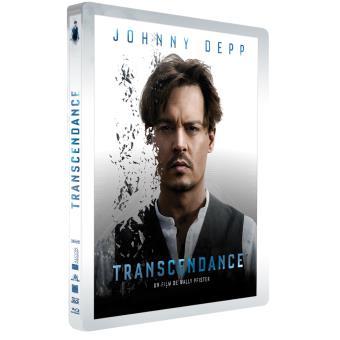 Transcendance  Combo Blu-Ray 3D + 2D Steelbook édition limitée
