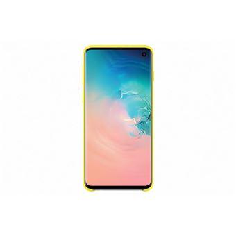 Samsung Galaxy S10 Silicone Cover Jaune