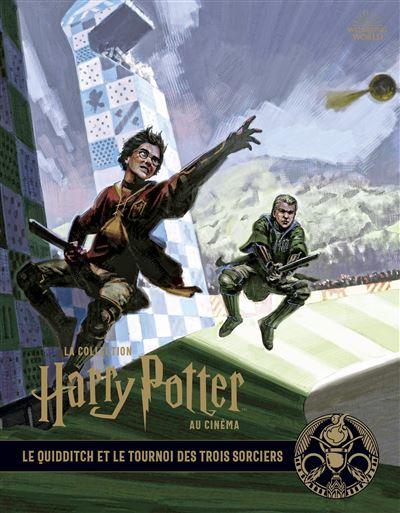 La collection Harry Potter au cinéma, vol. 7 : Le Quidditch et le tournoi des Trois Sorciers
