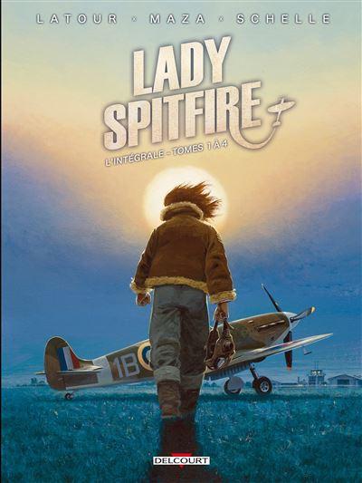 Lady Spitfire Intégrale 01 à 04