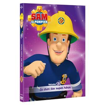 Sam Le Pompier Volume 12 Le Choc Des Super Heros Dvd Dvd Zone 2