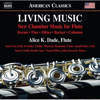 Living Music New Chamber Music for Flute