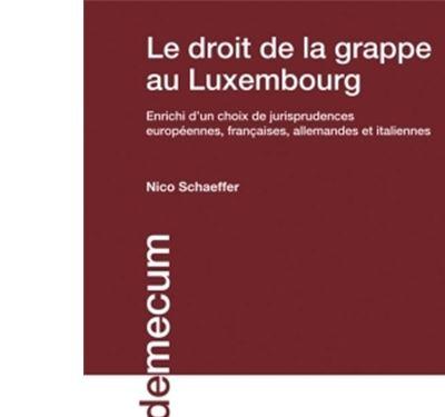 Le droit de la grappe au Luxembourg