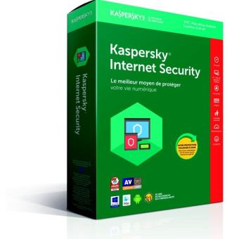 Kaspersky Internet Security 2018 3 Postes 1 An
