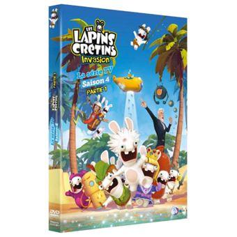 Les Lapins Crétins Saison 4 Volume 1 Dvd