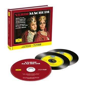 Macbeth - 2CD + Blu-ray