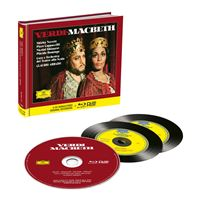 MACBETH/INCLUS LIVRE + BLU RAY