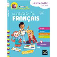 Activités de Français Maternelle GS  Workbook