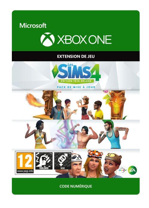 Code de téléchargement Les Sims 4: Edition Fête Deluxe Pack de mise à jour Xbox One