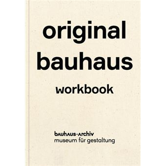 Original Bauhaus Exercise book - relié - Nina Wiedemeyer ...
