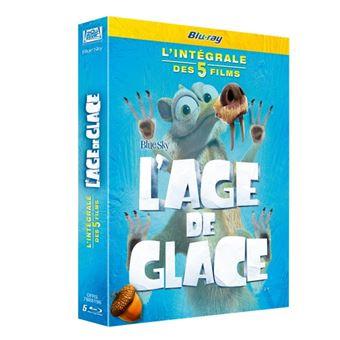 L'âge de glaceAGE DE GLACE 1 A 5 COFFRET-FR-BLURAY