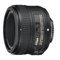 Objectif reflex Nikon AF-S FX Nikkor 50 mm f/1.8 G