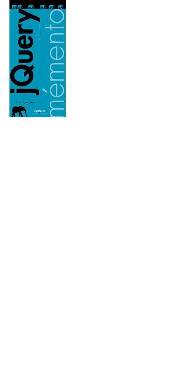 Mémento jQuery - 9782212153590 - 4,99 €