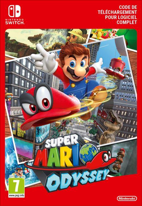 Code de téléchargement Super Mario Odyssey Nintendo Switch