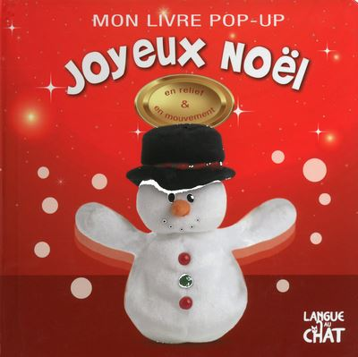 Mon livre pop-up joyeux noel