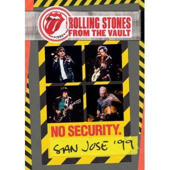 From The Vaults : No Security San Jose 1999 DVD