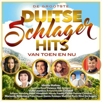 Duitse schlager hits van toen/2CD