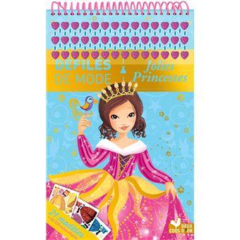 Jolies Princesses, bloc à spirales