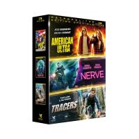 Action 2 0/coffret 3 films/nerve/american ultra/tracers_