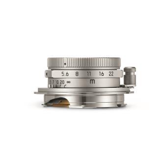 Objectif Hybride Leica Summaron M 28 mm F5.6 Asph. Chromé Argent