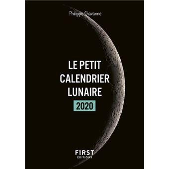 Calendrier Lunaire Juin 2020.Petit Livre Le Petit Calendrier Lunaire 2020